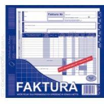 Druk Faktura VAT netto 2/3 A4