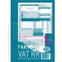 Druk Faktura VAT RR A5