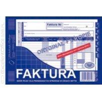 Druk Faktura VATpełna netto A5 (org.+2kopie)
