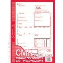 Druk CMR Międzynarodowy list przewozowy A4
