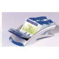 Wizytownik rzędowy DURABLE Visifix Desk na 200 wizytówek srebrny