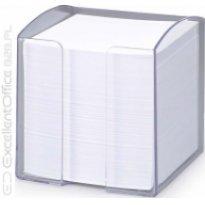 Pojemnik z karteczkami  DURABLE TREND 90x90/800kart przeźroczysty