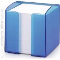 Pojemnik z karteczkami  DURABLE TREND 90x90/800kart przeźroczysty-niebieski