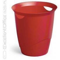 Kosz na śmieci DURABLE TREND 16l czerwony