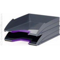 Zestaw 2 tacek na dokumenty DURABLE Varicolor fioletowy