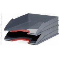 Zestaw 2 tacek na dokumenty DURABLE Varicolor czerwony