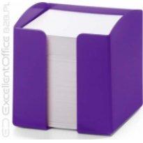 Pojemnik z karteczkami  DURABLE TREND 90x90/800kart fioletowy