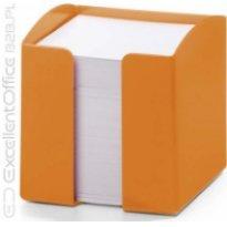 Pojemnik z karteczkami  DURABLE TREND 90x90/800kart pomarańczowy
