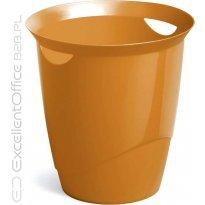 Kosz na śmieci DURABLE TREND 16l pomarańczowy