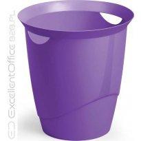 Kosz na śmieci DURABLE TREND 16l fioletowy