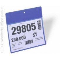 Kieszeń maga. magnetyczna neodymowa DURABLE 210x148mm, pozioma, niebieska (10szt.)