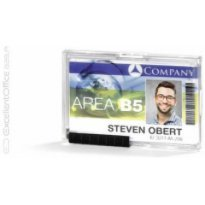 Identyfikator akrylowy DURABLE 87*54mm na trzy karty