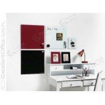 Tablica szklana 2x3 NAGA 45x45cm czerwona