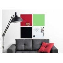 Tablica szklana 2x3 NAGA 40x60cm czerwona