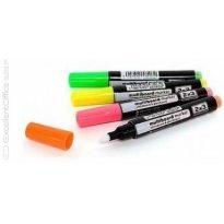 Marker kredowy 2x3 Multiboard kpl. 4 kolorów fluo AS143