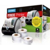 Zestaw promocyjny DYMO etykiety 32*57/19*51/41*89 + drukarka LW450