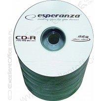 Płyta CD-R ESPERANZA 700MB Szpindel 100szt