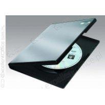 Pudełko na płytę 1xDVD Slim 9mm czarne