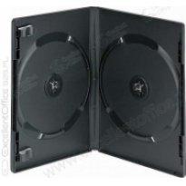 Pudełko na płyte 2xDVD Slim 9mm czarne