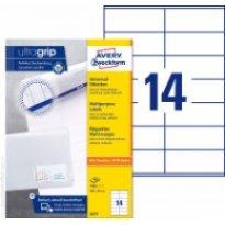 Etykiety uniwersalne Avery Zweckform 105*41mm (100ark.)