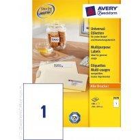 Etykiety samop. ZF Avery 210*297 (100ark.)