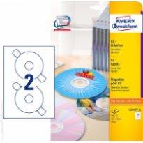 Etykiety samop. ZF Avery CD śr117 (25ark.)