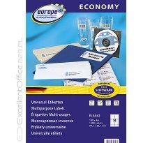 Etykiety samop. E100 Economy  ZF Avery 99.1x38.1 (100ark.) ELA042