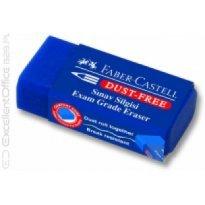Gumka FABER CASTELL Dust Free niebieska