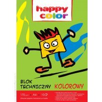 Blok techniczny HAPPY COLOR A3/10k kolor