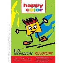 Blok techniczny HAPPY COLOR A4/10k kolor
