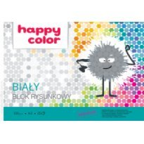 Blok rysunkowy HAPPY COLOR A3/20k,100g, biały