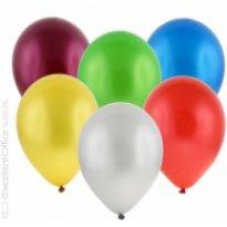 """Balony GoDan 12"""" metaliczne mix kolor"""