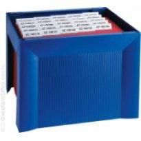 Miniarchiwum na teczki zawieszkowe HAN Karat A4 niebieskie