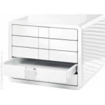 Zestaw 5 szuflad HAN iBOX A4 biały