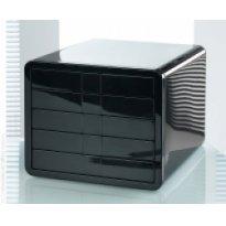 Zestaw 5 szuflad HAN iBOX A4 czarny