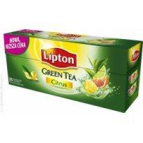 Herbata LIPTON Clear Green Tea Citrus (25T)