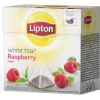 Herbata biała LIPTON - Piramidki White Tea Malina (20szt)