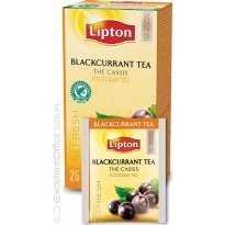 Herbata LIPTON Blackcurrant (25szt) w kopertach