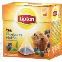Herbata LIPTON - Piramidki Jagodowa Muffinka (20szt)