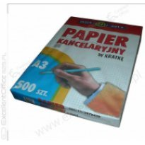 Papier kancelaryjny INTERDRUK A3/500k kratka