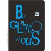Brulion INTERDRUK Black&Blue A5/96k kratka op.półtwarda