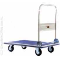 Wózek platformowy ze składaną rączką do 300kg.