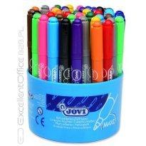 Flamastry JOVI Maxi 12 kolorów (48sztuk)