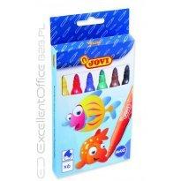 Flamastry JOVI Maxi 6 kolorów