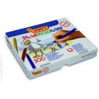 Kredki plastikowe JOVI okrągłe 12 kolorów (300szt)