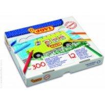 Kredki plastikowe JOVI hexagonalne 12 kolorów (300szt)