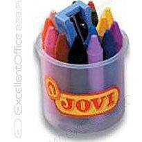 Kredki świecowe JOVI 16 kolorów+temperówka