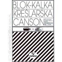 Kalka kreślarska CANSON A3 90-95g/m2 20ark blok