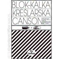 Kalka kreślarska CANSON A4 90-95g/m2 30ark blok