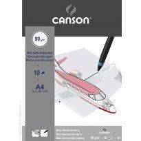Kalka kreślarska CANSON A4 (10ark)